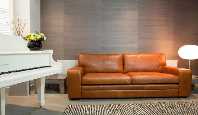 Sof s de cuero que no pasan de moda revista muebles - Que sofas que muebles ...