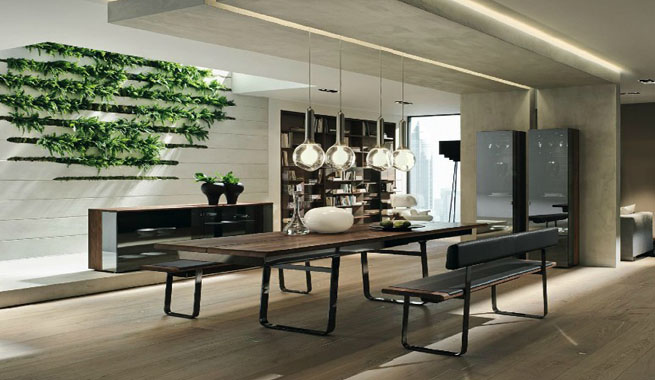 con muebles de madera – Revista Muebles – Mobiliario de diseño