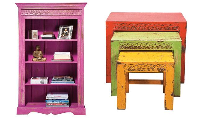 Revista muebles mobiliario de dise o for Colores de muebles de madera