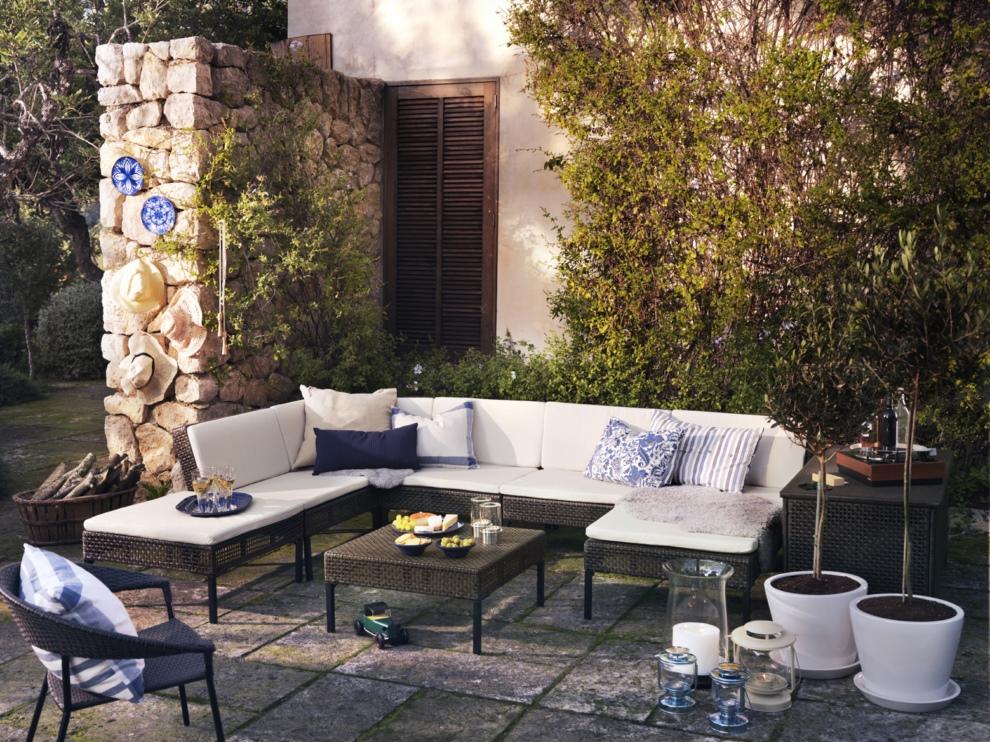 Revista muebles mobiliario de dise o - Ikea muebles jardin exteriores lyon ...