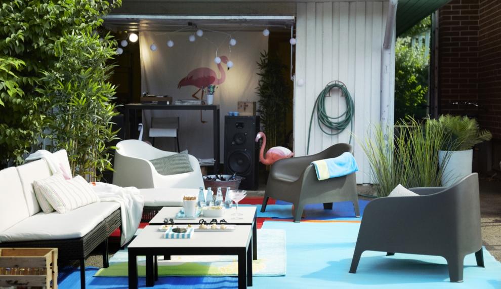 muebles de exterior ikea primavera verano 2013 revista