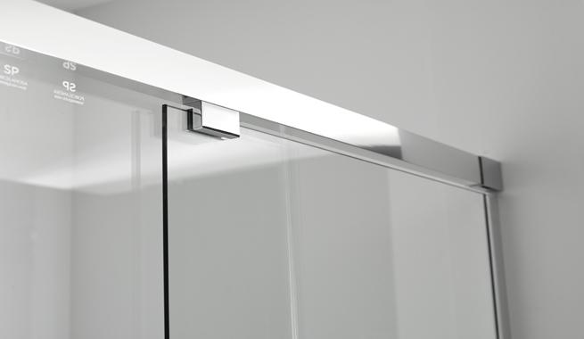 Mamparas para ba os minimalistas revista muebles - Mamparas para el bano ...