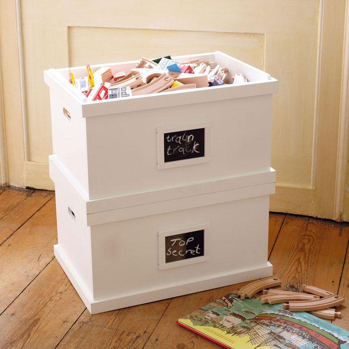 Revista muebles mobiliario de dise o - Cajas para almacenar juguetes ...