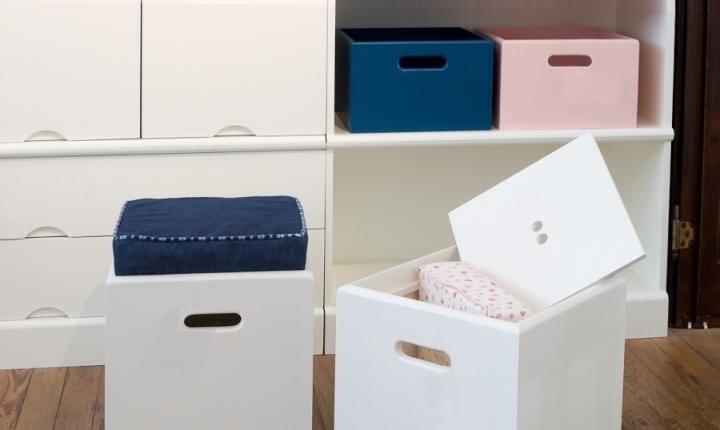 Cajas madera revista muebles mobiliario de dise o - Armario para guardar juguetes ...