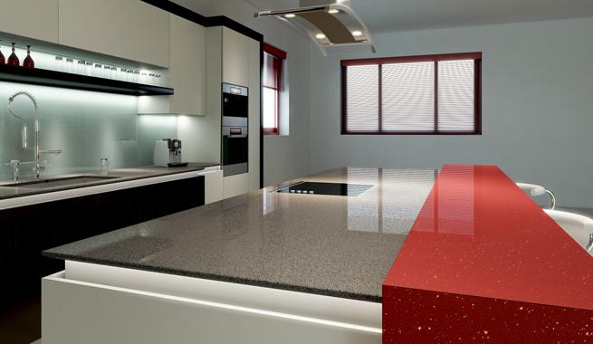 Revista muebles mobiliario de dise o - Colores de granito para encimeras de cocina ...