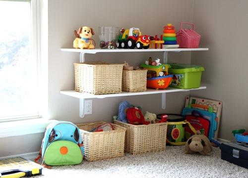 Ideas para guardar los juguetes - Estanterias para juguetes ...