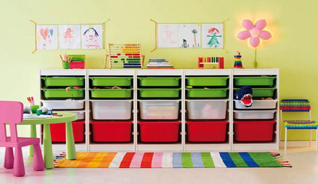 Ideas para guardar los juguetes revista muebles - Muebles modulares ikea ...