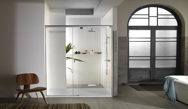 Baños Duchas Modernas:Mamparas para baños minimalistas – Revista Muebles – Mobiliario