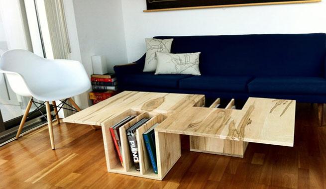 Virutas de madera dise os - Mesa madera diseno ...