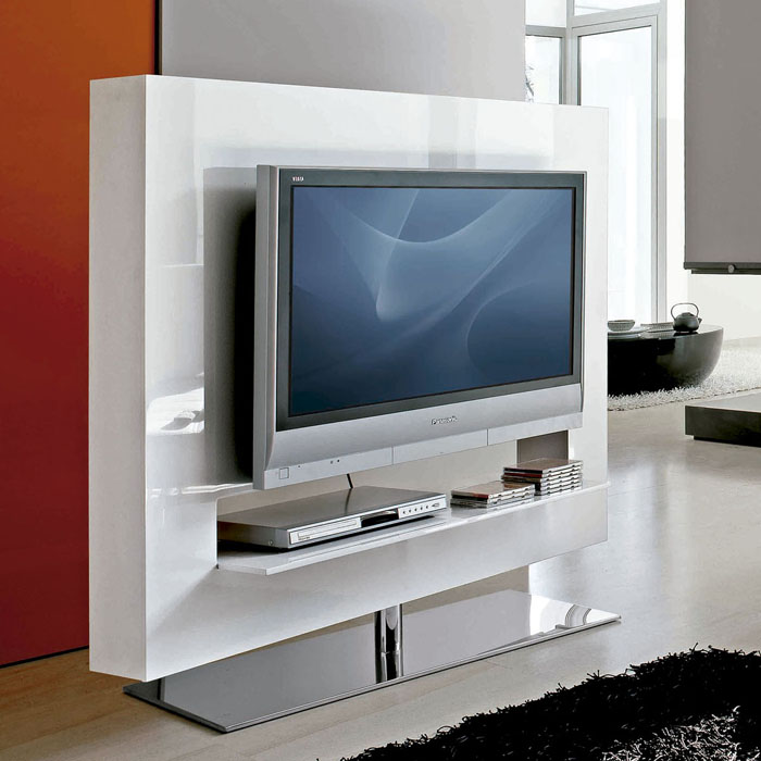 Mueble tele compacto revista muebles mobiliario de dise o - Cabeceras pintadas en la pared ...