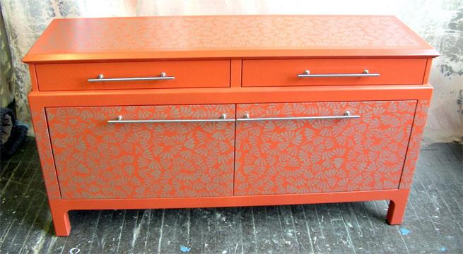 Pintar muebles de color naranja - Muebles en crudo para pintar ...