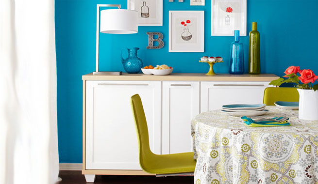 Aparadores de cocina ikea ivar cabinet white painted - Aparadores para cocina ...
