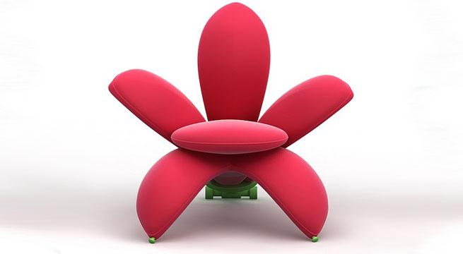 Muebles modernos inspirados en flores revista muebles for Mesas diseno famosas