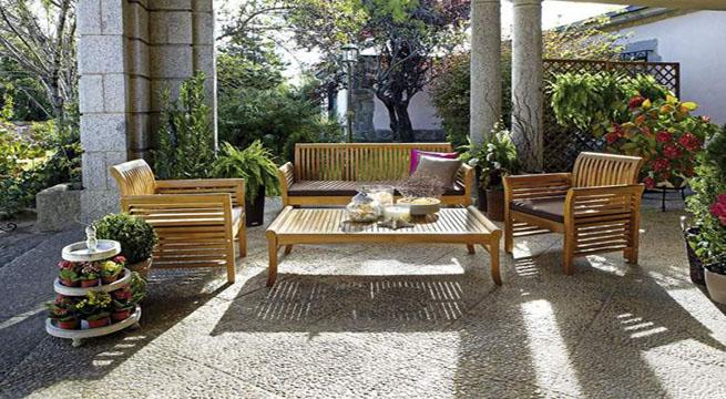 Revista muebles mobiliario de dise o for Aki mesas jardin