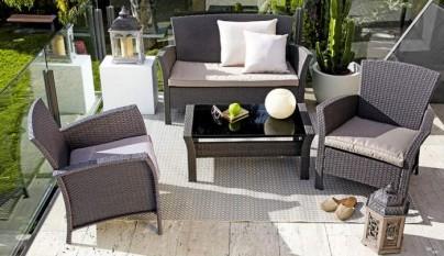 Revista muebles mobiliario de dise o for Sofa exterior leroy