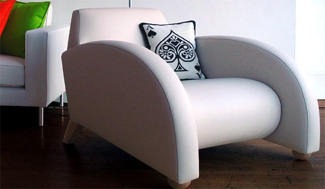 Sof s de piel de dise o moderno revista muebles for Muebles de oficina lujosos