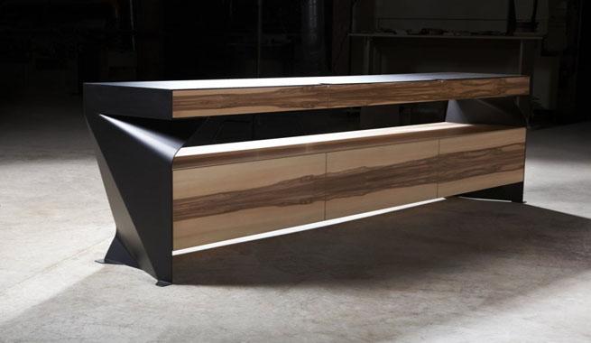 El elegante futurismo de la c moda c1 revista muebles - Comodas diseno ...