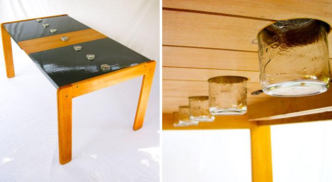Mesas Con Material Reciclado. Finest Como With Mesas Con Material ...