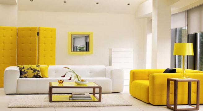 Decorar con muebles amarillos revista muebles mobiliario de dise o - Muebles pintados de colores ...