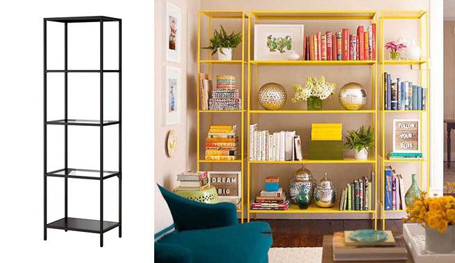 Revista muebles mobiliario de dise o for Estanterias estrechas ikea