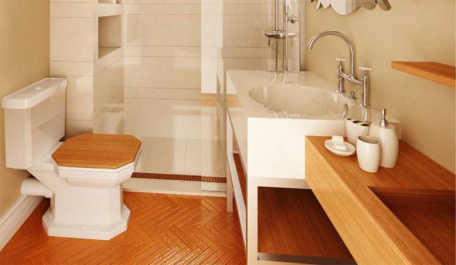 Muebles de madera para el ba o revista muebles for Mobiliario de bano de diseno