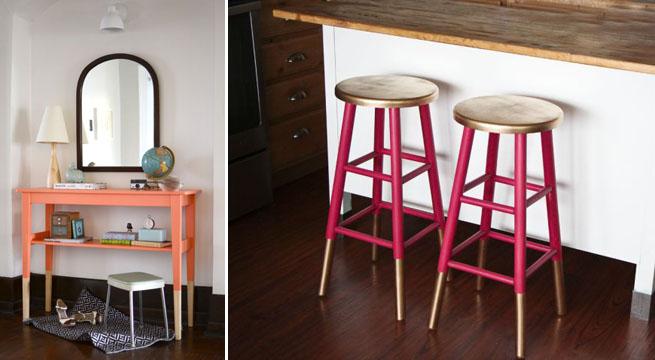 Reciclar muebles t cnica del dip painting revista muebles mobiliario de dise o - Ideas reciclar muebles ...