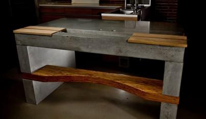 Muebles reciclados de madera y cemento - Sklum muebles ...