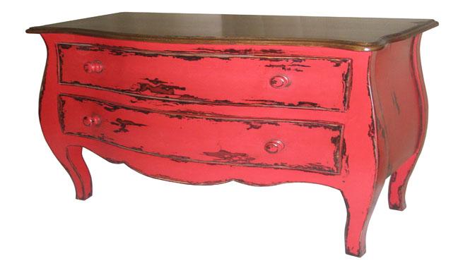 Decorar con muebles de color rojo - Muebles bombay ...