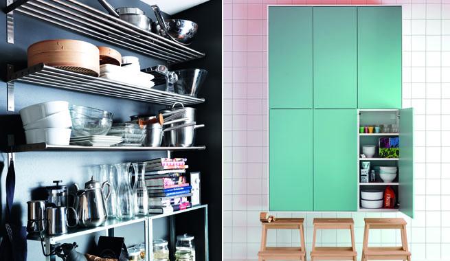 Muebles de almacenaje para la cocina revista muebles for Muebles para almacenaje