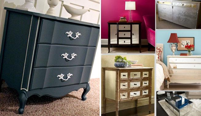 Ideas para renovar muebles viejos revista muebles - Muebles de colores pintados ...