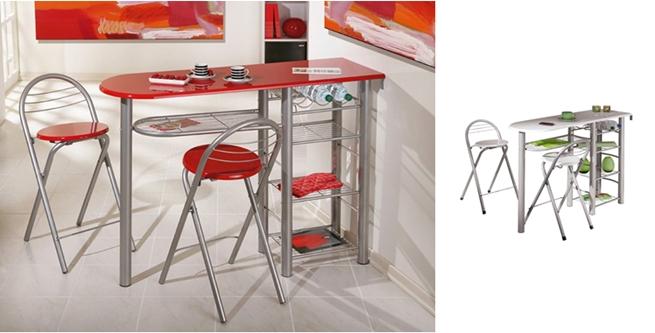 Mesas de cocina tipo barra revista muebles mobiliario for Mesa barra cocina