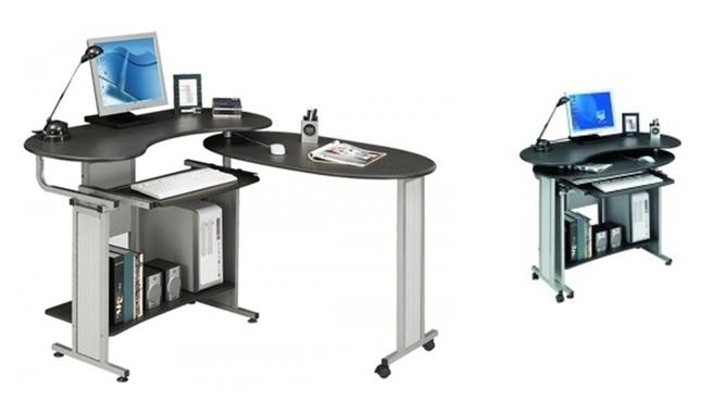 Mesas de ordenador muy completas revista muebles - Mesas para el ordenador ...