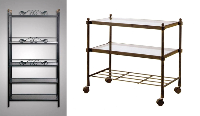 Muebles de forja para el dormitorio revista muebles for Estanteria forja ikea