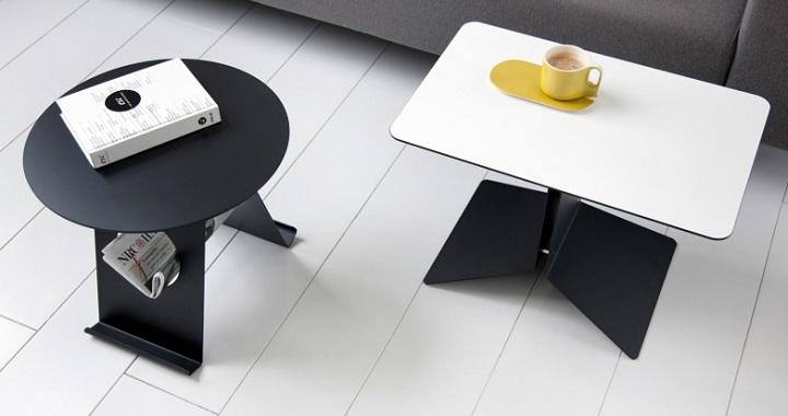 Revista muebles mobiliario de dise o - Mesas auxiliares modernas ...