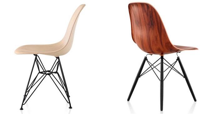 Sillas eames dsw y dsr disponibles en madera revista - Fabricantes de sillas ...