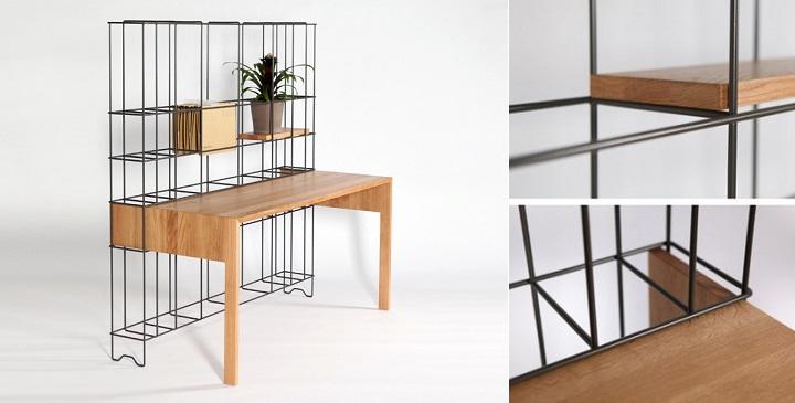 revista muebles mobiliario de dise o On diseno de mesas de trabajo