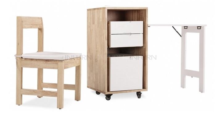 Revista muebles mobiliario de dise o - Cama escondida en mueble ...