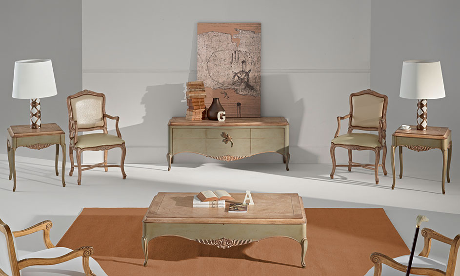 Muebles salon clasico gala revista muebles mobiliario for Catalogo de muebles de salon clasicos