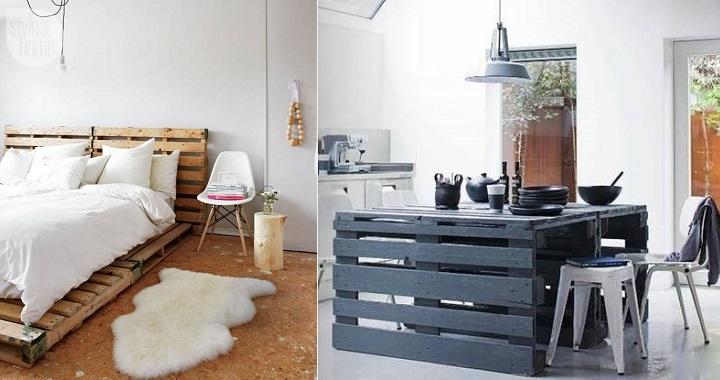 Muebles hechos con palets revista muebles mobiliario for Muebles hechos con palets