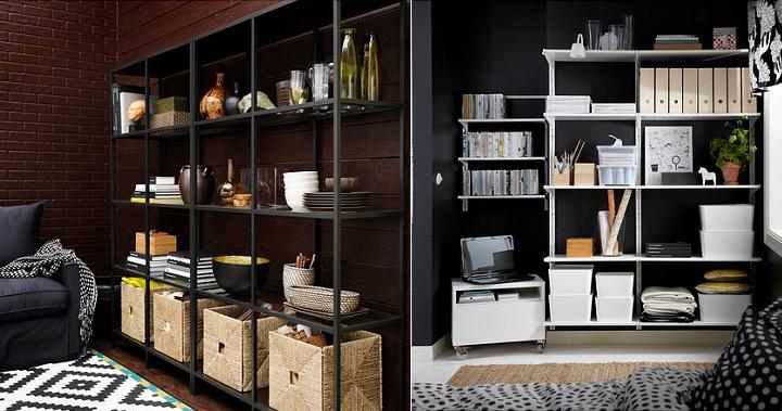 estanteras ikea u revista muebles u mobiliario de diseo