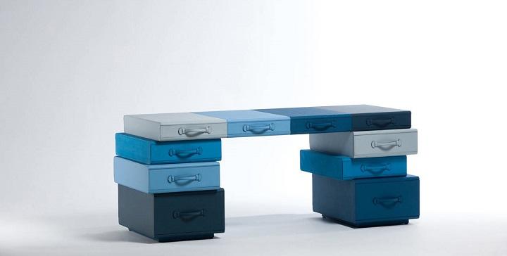 Muebles de cuero de Maarten de Ceulaer1