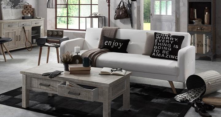 Colecci n de muebles de madera reciclada revista muebles for Muebles de moda