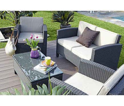 Revista muebles mobiliario de dise o for Muebles jardin resina