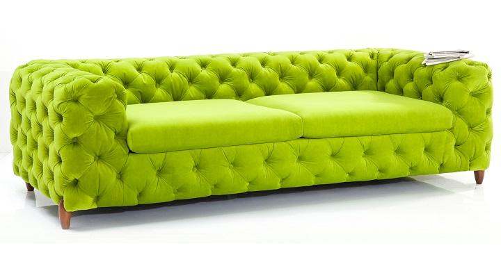 Coleccion muebles colores citricos