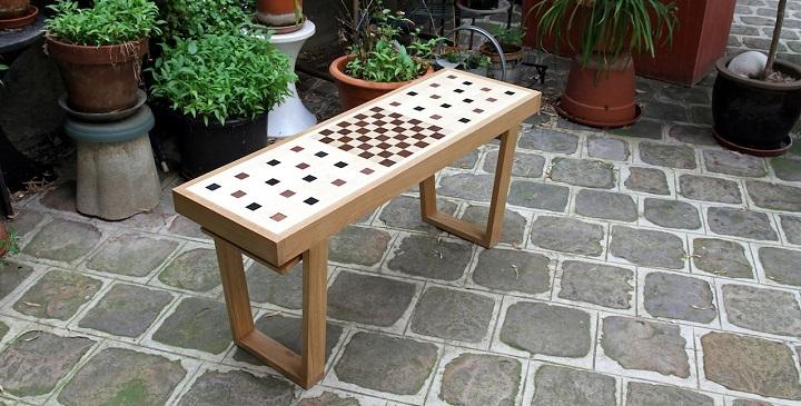 Congo Squares Bench1