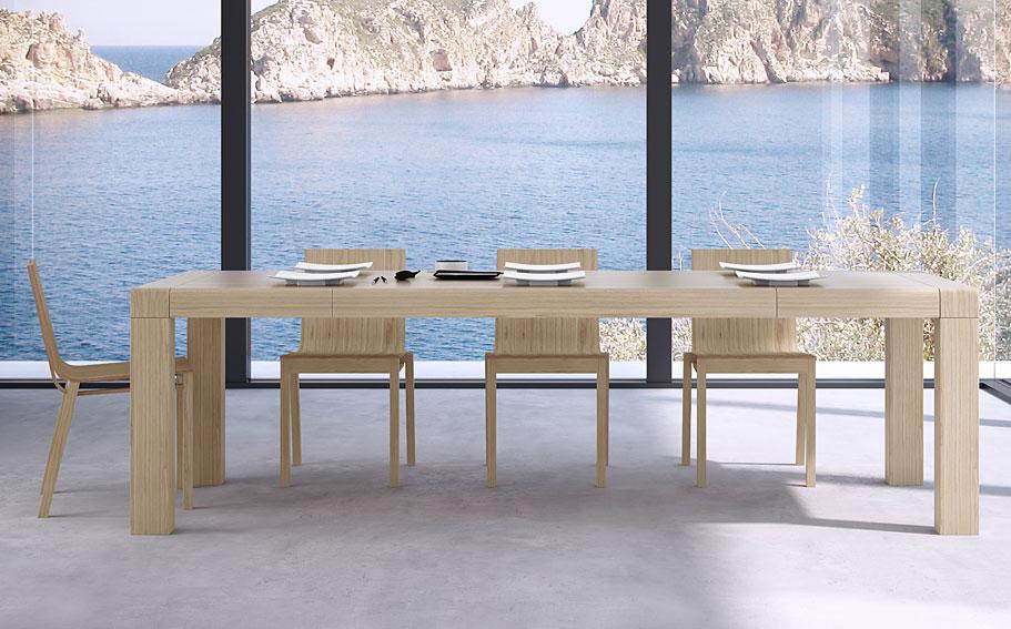 grandes mesas realizadas en maderas duras macizas foto 2 ...