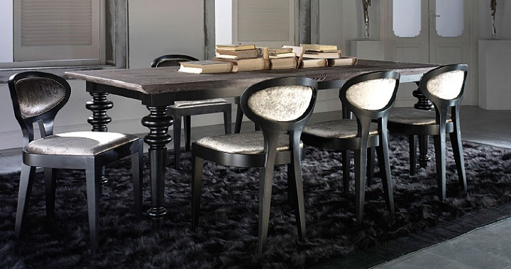 Revista muebles mobiliario de dise o for Mesas de comedor grandes