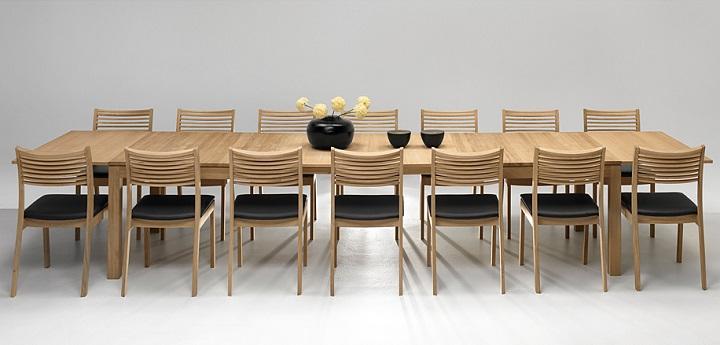 Mesas de comedor grandes revista muebles mobiliario de - Mesas grandes de comedor ...