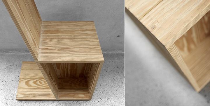 Silla Angular madera1