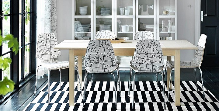 Revista muebles mobiliario de dise o - Sillas con reposabrazos ikea ...
